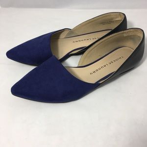 Chinese Laundry Endless Love Flats Suede size 8.5